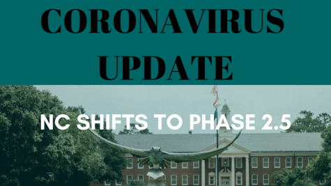 Coronavirus update: Gov Cooper announces shift to COVID-19 phase two and half reopening.