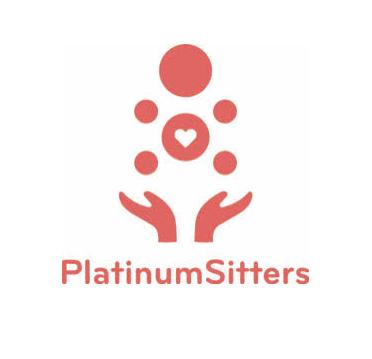 Platinum Sitters logo.
