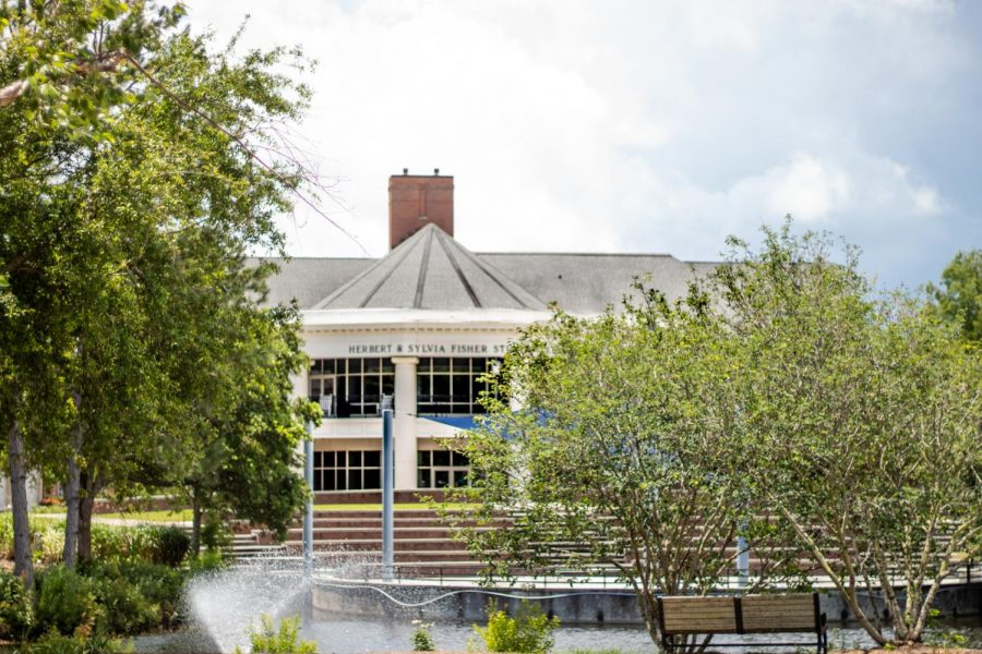 UNCW's Fisher Student Center.