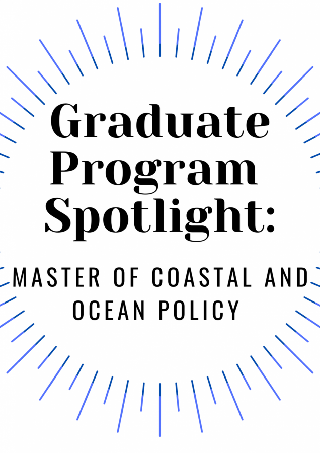 UNCW's Coastal and Ocean Policy program: a means for students to put their degrees to action