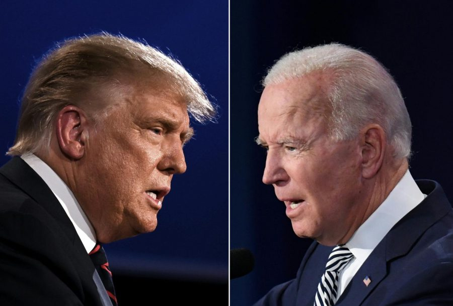 The Commission on Presidential Debates cancelled the second debate between Donald Trump and Joe Biden. (JIM WATSON,SAUL LOEB/AFP via Getty Images/TNS)
