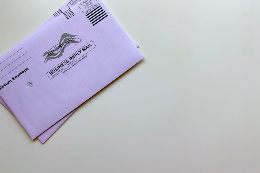 American election mail envelopes