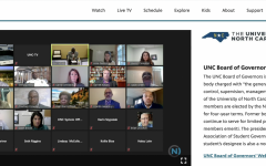 A screenshot from the UNC System's Board of Governors Race and Equity Task Force meeting on Nov. 10.