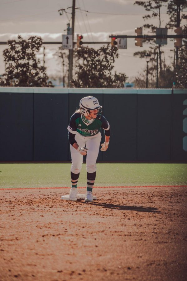 Anna Knox during UNCW's intrasquad scrimmage.