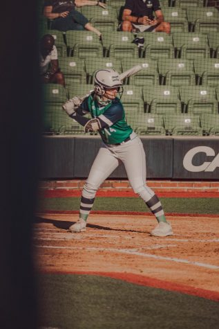 Skylar Stockton during UNCW
