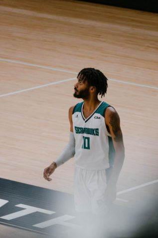 Jahmari Harvey during UNCW