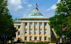 The North Carolina State Capitol Building in Raleigh, North Carolina. (Dreamstime/TNS)