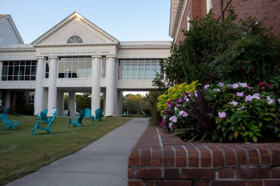Fisher Student Center.