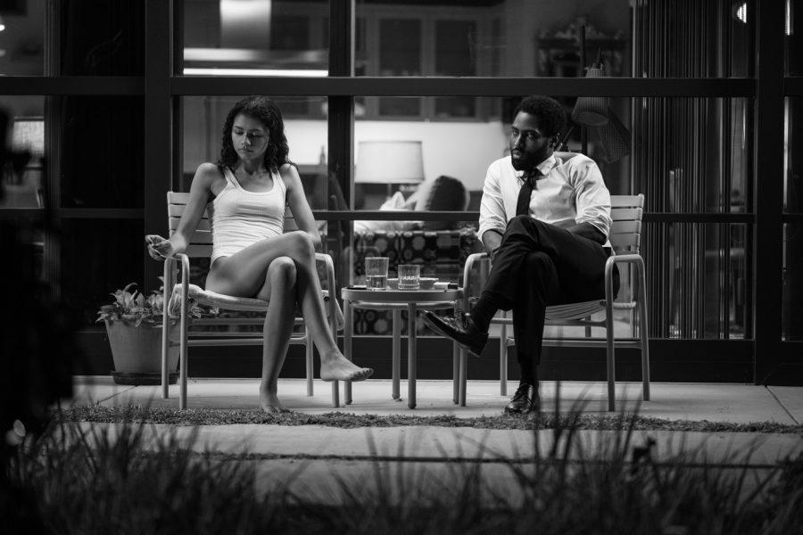 "Zendaya and John David Washington in the movie ""Malcolm & Marie."" (Dominic Miller/Netflix/TNS)"