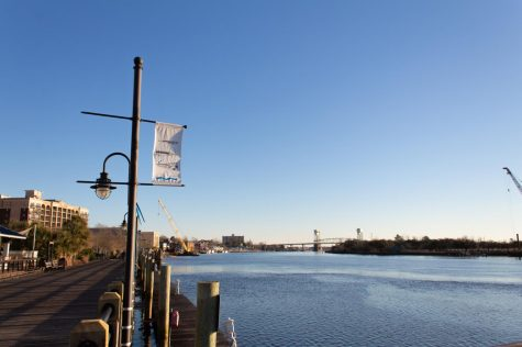 A view of the Wilmington Riverfront.