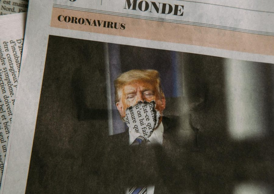 Trump and Coronavirus (Newspaper).
