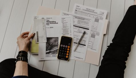 Filing taxes.