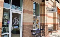 Cinnaholic is located in the Mayfaire Town Center.