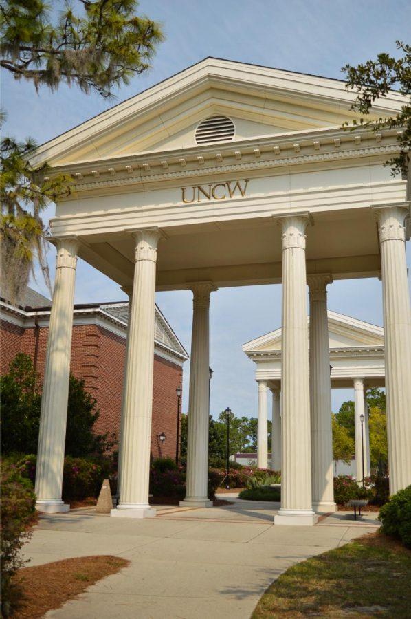 The UNCW columns.