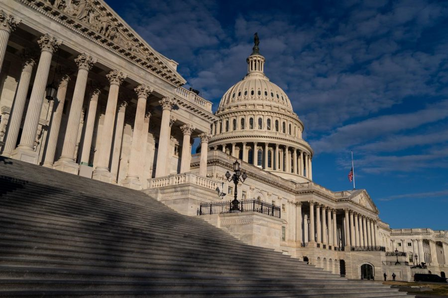 The U.S. Capitol Building, on Saturday, Jan. 16, 2021, in Washington, D.C.   (Kent Nishimura/TNS)
