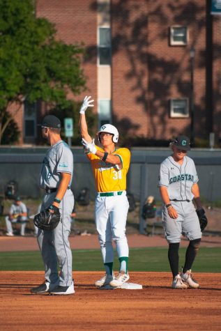 Zachary Bridges during UNCW