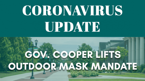 Cooper lifts outdoor mask requirements