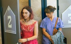Saoirse Ronan, left, and Laurie Metcalf in a scene from