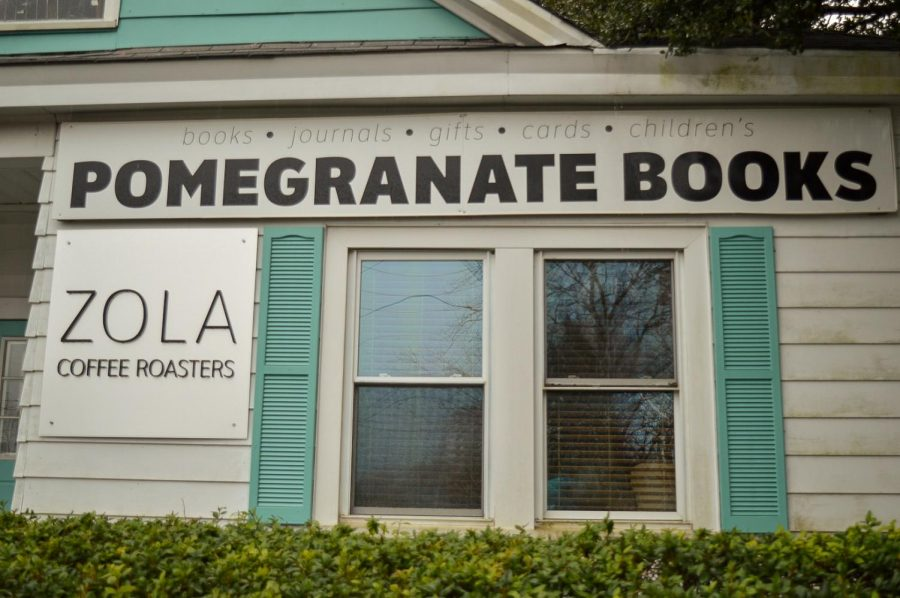 Zola Coffee Roasters also resides inside Pomegranate Books.