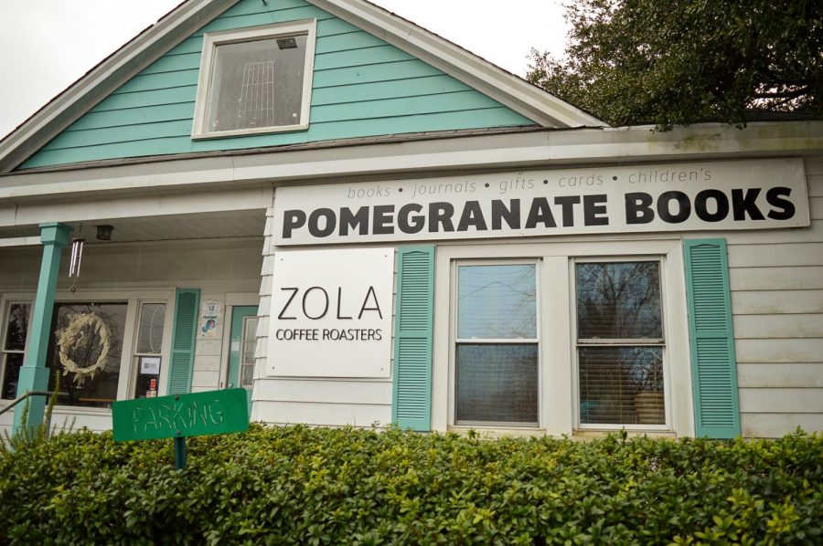 Pomegranate Books is an indie bookstore in Wilmington, N.C.