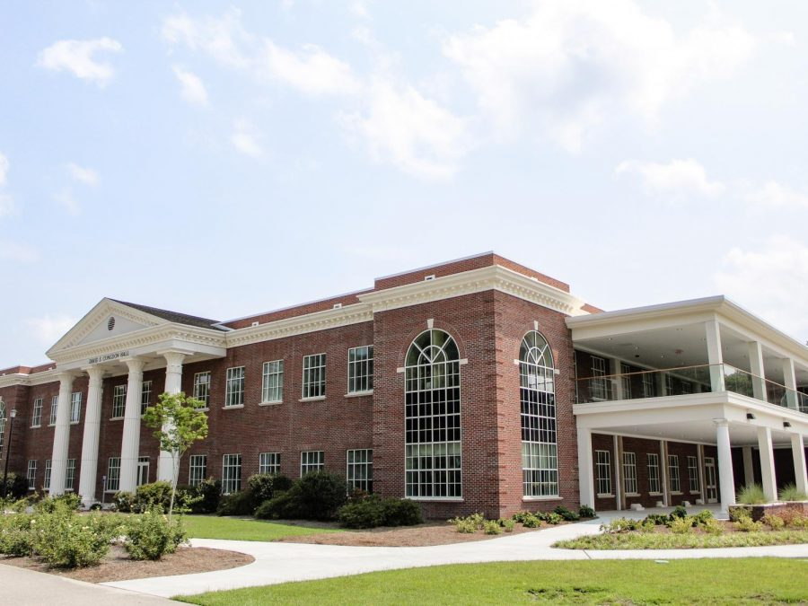 Congdon Hall after construction has finished.