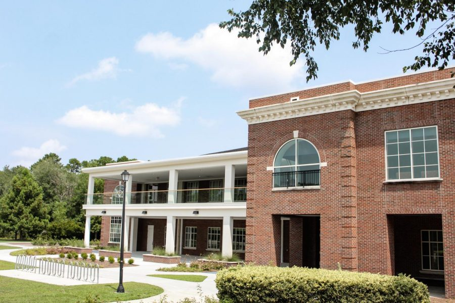 New improvements have been added to Congdon Hall.