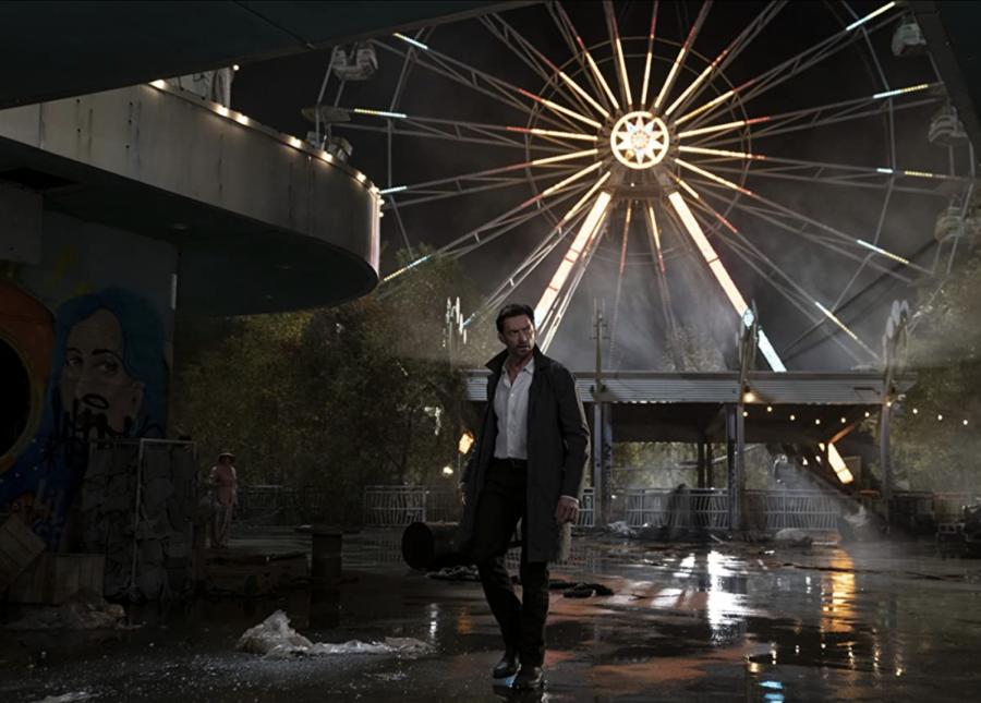 "Hugh Jackman in ""Reminiscence"" (2021)."