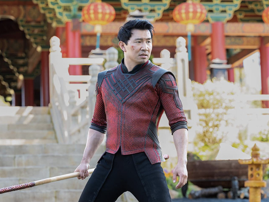 """Simu Liu in """"Shang-Chi and the Legend of the Ten Rings"""" (2021)."""
