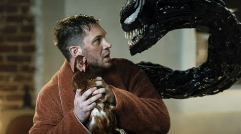 """Tom Hardy in """"Venom: Let There Be Carnage"""" (2021)."""