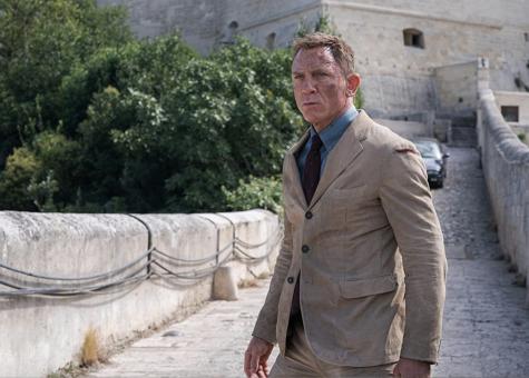 "Daniel Craig in ""No Time to Die"" (2021)."