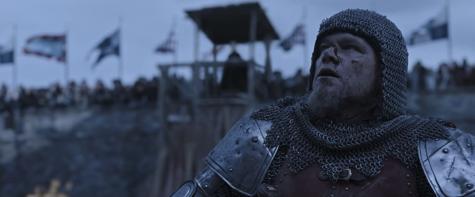 "Matt Damon in ""The Last Duel"" (2021)."